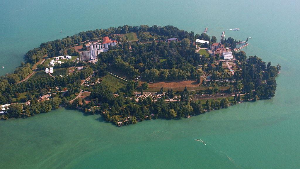 Mainau Luftbild Herzlich Willkommen Insel